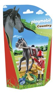 Playmobil Country 9261 Jockey avec cheval de course