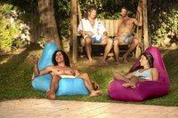 Sunvibes opblaasbare loungezetel Travel Lounger grijs-Afbeelding 8