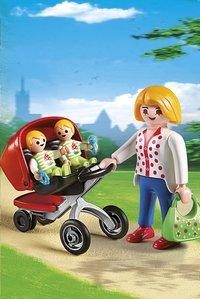 Playmobil City Life 5573 Tweeling kinderwagen-Afbeelding 1