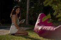 Sunvibes opblaasbare loungezetel Travel Lounger turkoois-Afbeelding 8