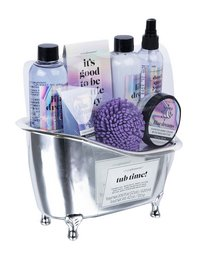 Geschenkset Tub time! lilac dream-Linkerzijde