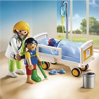 Playmobil City Life 6661 Ziekenhuiskamer met arts-Afbeelding 1