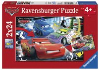 Ravensburger 2-in-1-puzzel Cars - Dolle race