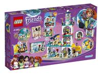 LEGO Friends 41380 Reddingscentrum in de vuurtoren-Achteraanzicht
