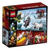 LEGO Ninjago 70671 De reis van Lloyd-Achteraanzicht