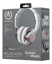 Power A casque-micro Fusion wired rosegold-Côté droit