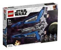 LEGO Star Wars 75316 Mandalorian Starfighter-Linkerzijde