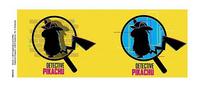 Mug Detective Pikachu Magnified-Détail de l'article