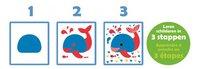 Jumbo Color Dessineo sjablonen dieren-Artikeldetail