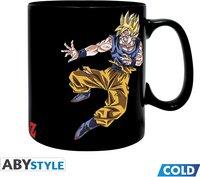 Mug magique Dragon Ball Goku vs Buu-Avant