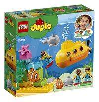LEGO DUPLO 10910 Avontuur met onderzeeër-Achteraanzicht