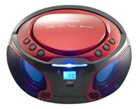 Lenco draagbare radio/cd-speler SCD 550 rood