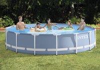 Intex zwembad Prism Frame Pool Ø 4,57 m - H 84 cm-Afbeelding 1