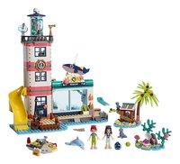 LEGO Friends 41380 Reddingscentrum in de vuurtoren-Vooraanzicht