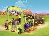 PLAYMOBIL Spirit 70120 Knip en Meneer Worteltjes met paardenbox-Afbeelding 1