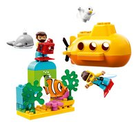 LEGO DUPLO 10910 Avontuur met onderzeeër-Vooraanzicht