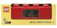 LEGO Brick wekker rood