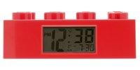 LEGO Brick réveil rouge-Avant