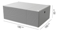 AquaShield beschermhoes voor tuinset L 180 x B 160 x H 85 cm polyester-Artikeldetail