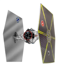 Lansay Star Wars Vaisseau 3D à customiser TIE Fighter-Avant