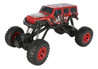 Auto RC Pick-up 4WD rood-Vooraanzicht