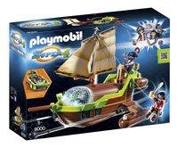 Playmobil Super 4 9000 Bateau pirate Caméléon avec Ruby