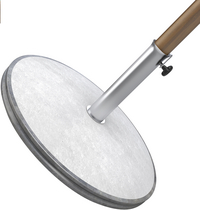 Movelar Pied de parasol AGO 40 béton gris-Détail de l'article