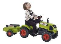 Falk tracteur Claas Arion 410 avec remorque-Image 1