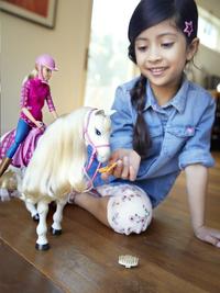 Barbie set de jeu Dreamhorse-Image 3