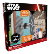 Lansay Star Wars Vaisseau 3D à customiser TIE Fighter-Côté gauche