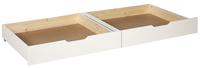 2 tiroirs de rangement Pino blanc