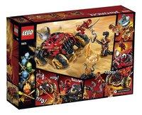 LEGO Ninjago 70675 Katana 4x4 -Achteraanzicht