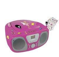 Bigben draagbare radio/cd-speler CD46 roze
