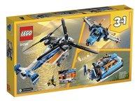 LEGO Creator 3-in-1 31096 Dubbel-rotor helikopter-Achteraanzicht
