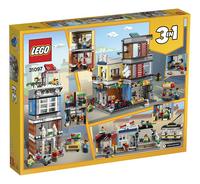 LEGO Creator 3-in-1 31097 Woonhuis, dierenwinkel & café-Achteraanzicht