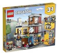 LEGO Creator 3-in-1 31097 Woonhuis, dierenwinkel & café-Linkerzijde