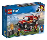LEGO City 60231 Reddingswagen van brandweercommandant-Linkerzijde