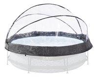 EXIT Overkapping voor zwembad Stone of Wood Ø 3 m-Vooraanzicht