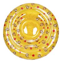 Swim Essentials Zwemband gele Circusprint-Bovenaanzicht