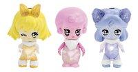 Figurines Glimmies Polaris Mileena, Penny et Carol-Avant