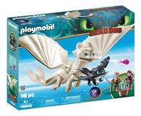 PLAYMOBIL Dragons 70038 Furie Éclair et bébé dragon avec les enfants-commercieel beeld