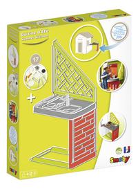 Smoby uitbreiding voor speelhuisjes Neo Jura Lodge, My Neo House en Chef House - Keuken-Linkerzijde