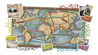 Ticket to Ride Rails & Sails-Vooraanzicht