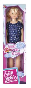 Stappop Girl Friends met onesie - 1 m-Vooraanzicht