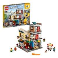 LEGO Creator 3-in-1 31097 Woonhuis, dierenwinkel & café-Artikeldetail