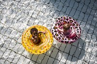 Swim Essentials Zwemband Goud Panterprint-Afbeelding 3