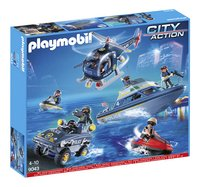 Playmobil City Action 9043 Le SWAT-Avant