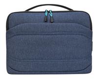 Targus laptoptas Groove X2 15/ Donkerblauw-Vooraanzicht
