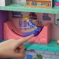 Mattel Speelset Polly Pocket Polyville Mega Mall Super Pack-Afbeelding 1