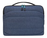 Targus laptoptas Groove X2 13/ Donkerblauw-Vooraanzicht